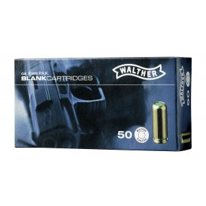 Cartouches a blanc cal. 9mm PAK Pistolet x 50 Walther