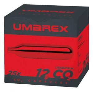 Capsules 12g sparclette CO2 Umarex par 25 pour arme a air comprimé