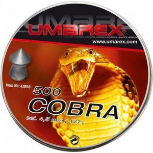 Plombs Umarex Cobra pointus 4.5mm x500 pas chers