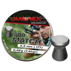 Plombs Umarex Match 4.5mm x500