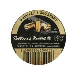 Cartouches a blanc cal. 9mm RK Revolver Sellier & Bellot x 50