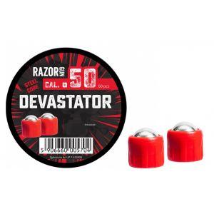 Balles métal Razorgun Devastator pour HDR50 x 60