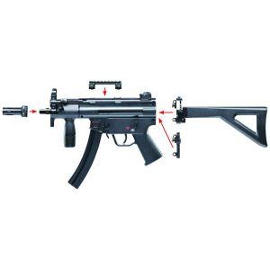 Pistolet mitrailleur HK MP5 K-PDW cal. 4,5mm BB blowback 3,94 joules