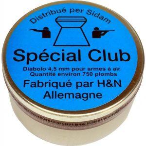 Plombs diabolo HN Special Club 4.5mm x750 économiques