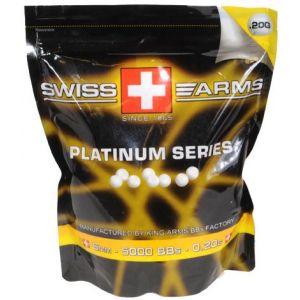 Billes 6mm 0,20g x 5000 - Platinum Series Swiss Arms
