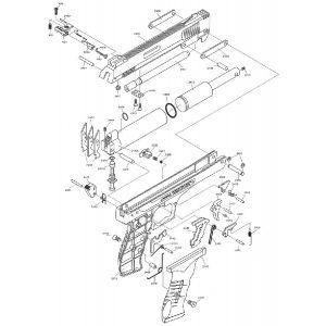 Kit pièces détachées Weihrauch HW40